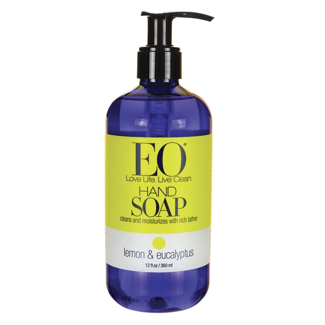 EO Products Liquid Hand Soap Lemon and Eucalyptus