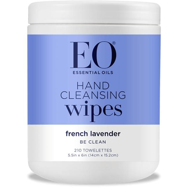 EO Products Hand Cleansing Wipes - Lavender