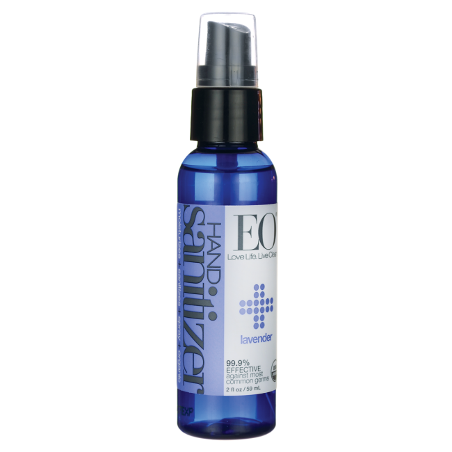 Eo Products Hand Sanitizer Spray Organic Lavender 2 Oz
