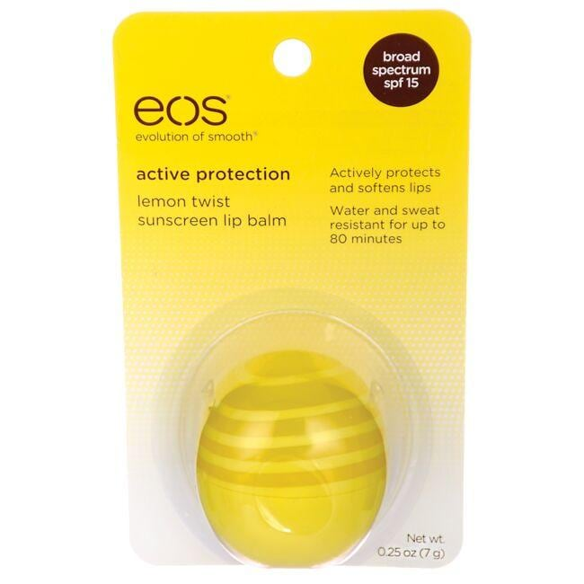 EOS Sunscreen Lip Balm - Lemon Twist