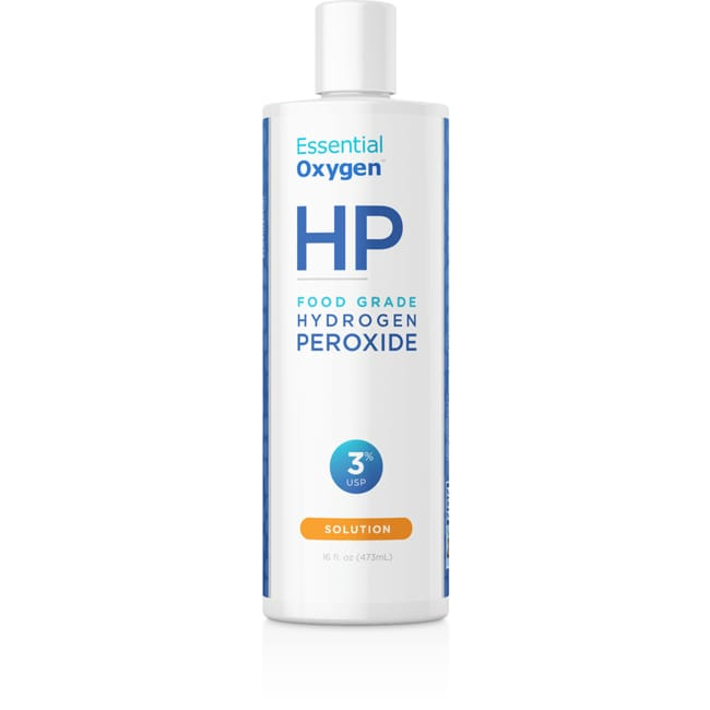 Essential OxygenHydrogen Peroxide Solution 3% Food Grade