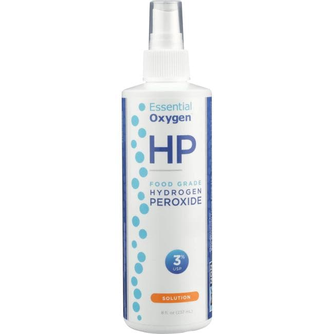 Essential Oxygen Food Grade Hydrogen Peroxide - 3% Solution