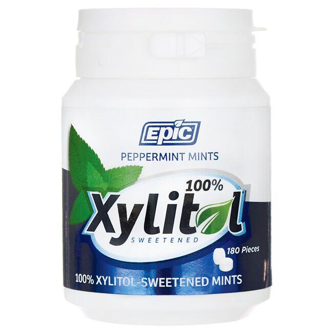 Epic DentalXylitol Sweetened Peppermint Mints