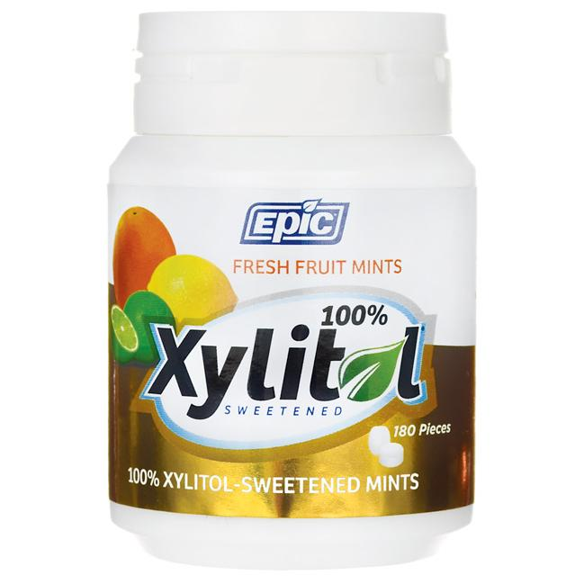 Epic Dental Xylitol Sweetened Fresh Fruit Mints