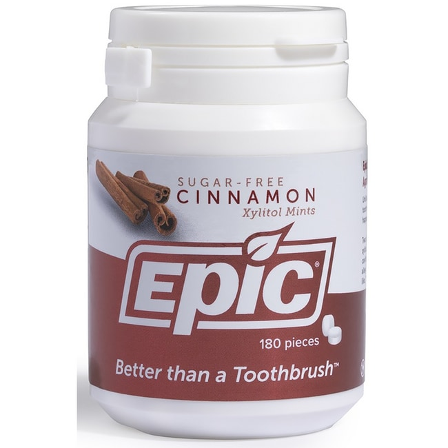 Epic DentalXylitol Sweetened Cinnamon Mints