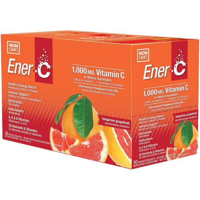 Ener-C Vitamin C Effervescent Powdered Drink Mix - Tangerine Grapefruit