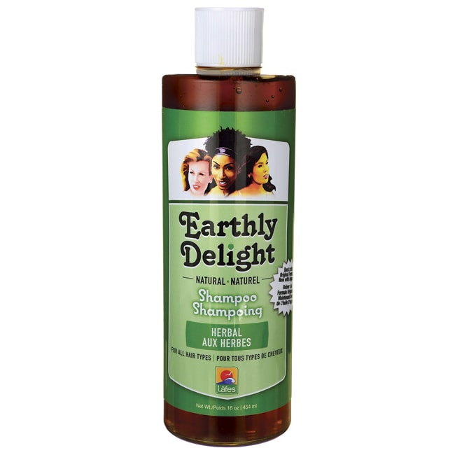 Earthly Delight Natural Shampoo - Herbal