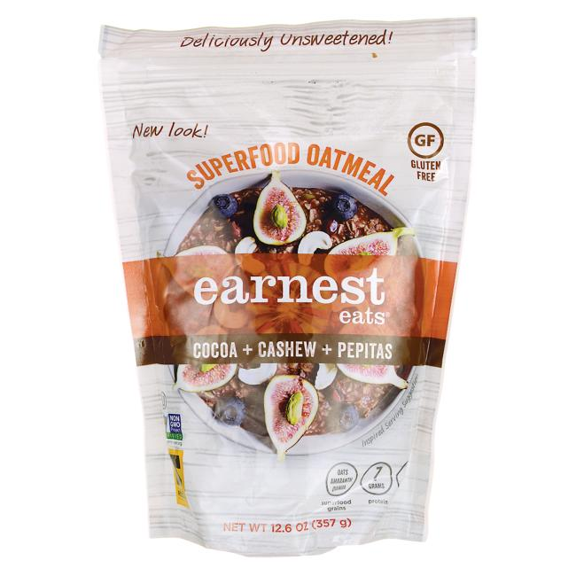 Earnest Eats Hot & Fit Cereal - Mayan Blend