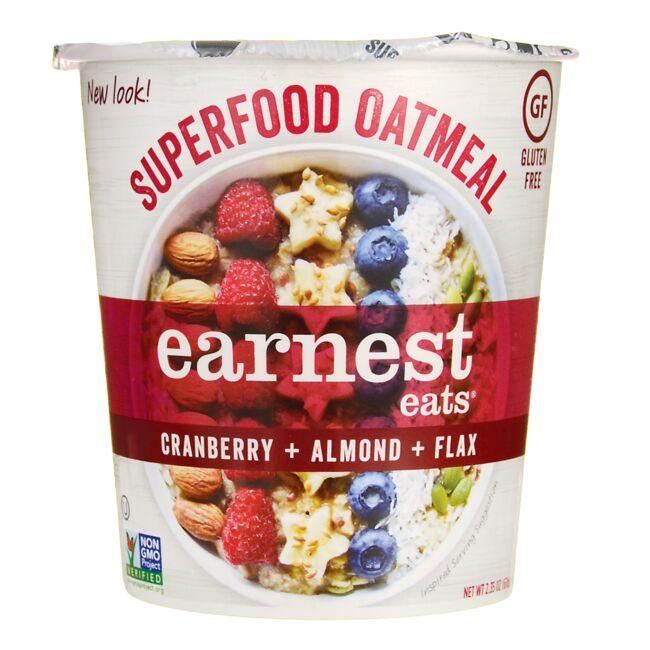 Earnest Eats Hot & Fit Cereal - American Blend