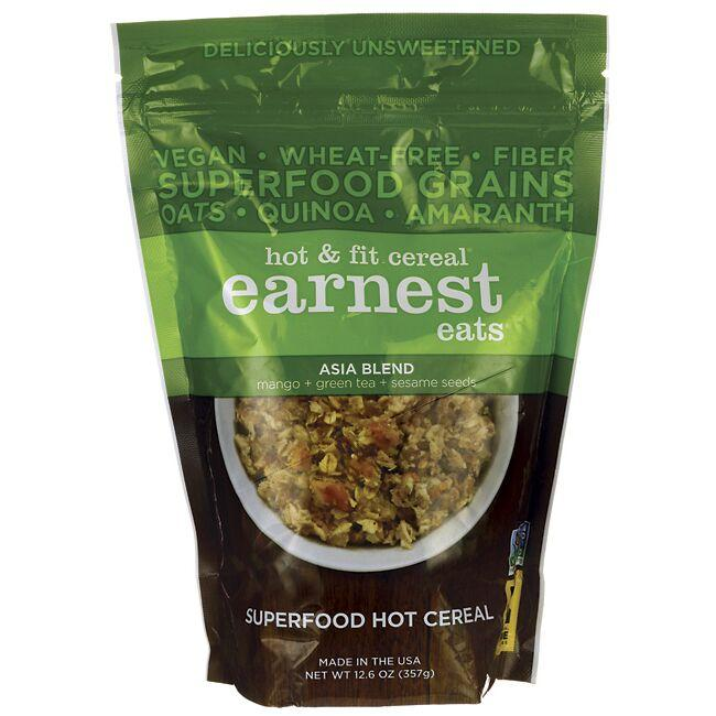 Earnest Eats Hot & Fit Cereal - Asia Blend
