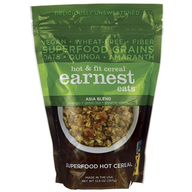 Earnest EatsHot & Fit Cereal - Asia Blend