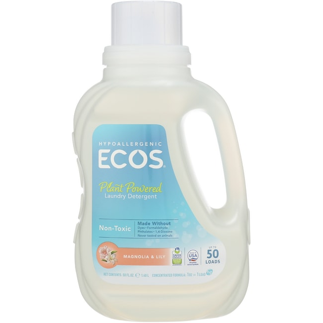 Earth Friendly Products Ultra ECOS Laundry Detergent Magnolia and Lily