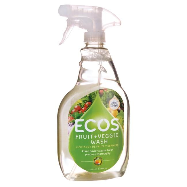 Earth Friendly Products ECOS Fruit + Veggie Wash