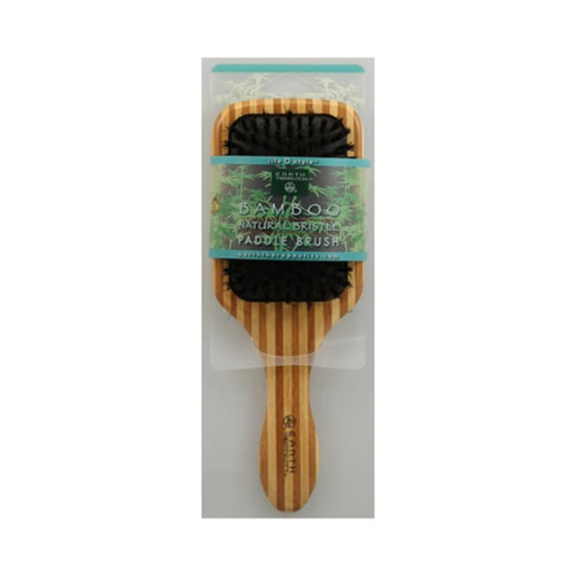 Earth TherapeuticsBamboo Natural Bristle Paddle Brush
