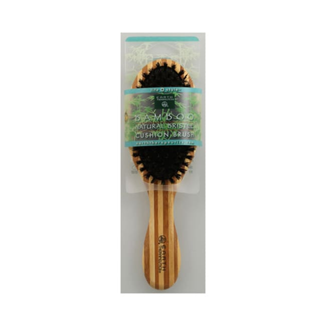 Earth TherapeuticsBamboo Natural Bristle Cushion Brush