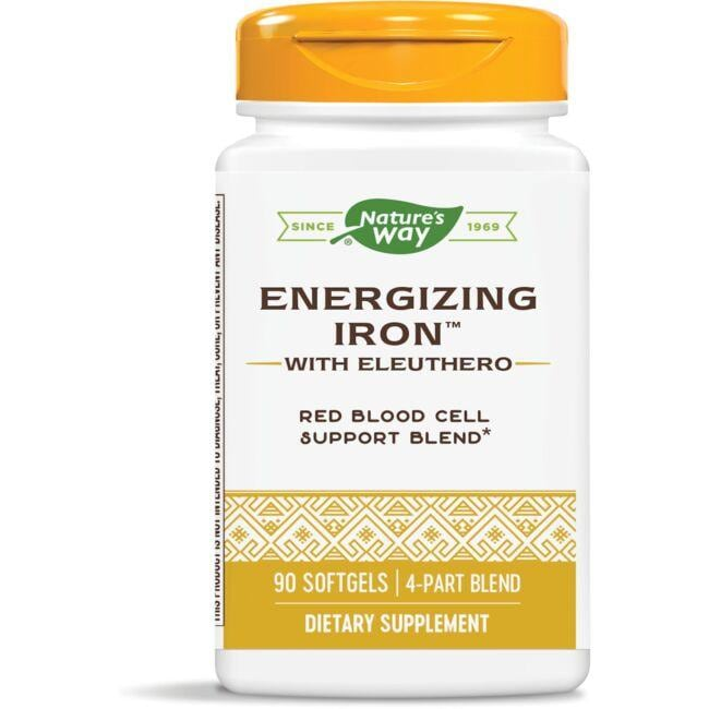 Nature's Way Energizing Iron with Eleuthero