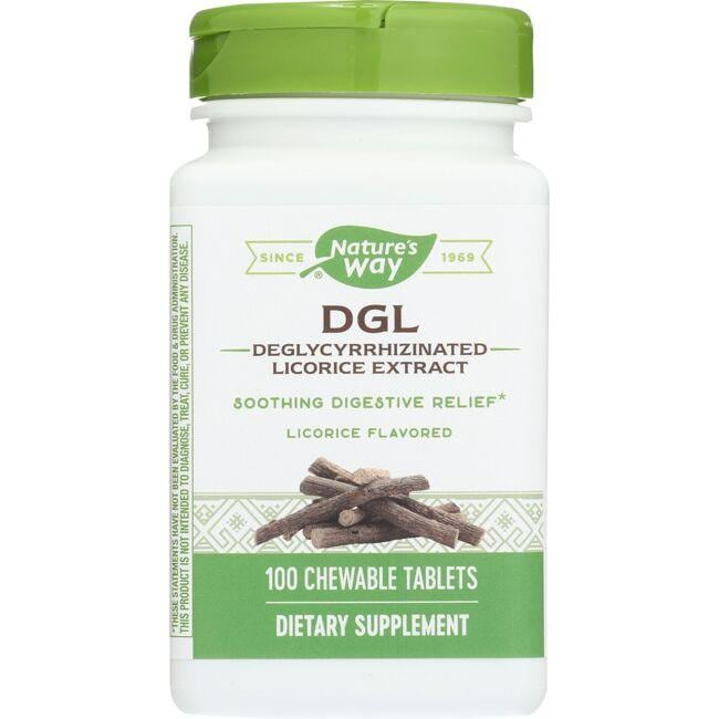 Nature's Way DGL - Licorice