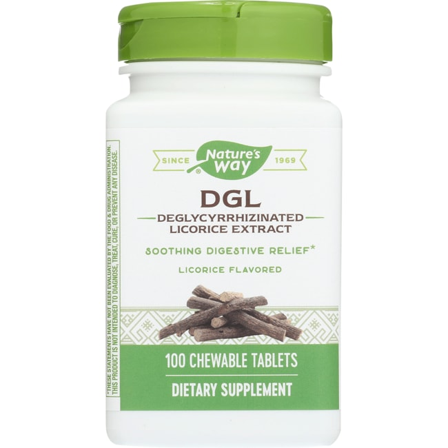 Enzymatic TherapyDGL 3:1 Deglycyrrhizinated Licorice Extract