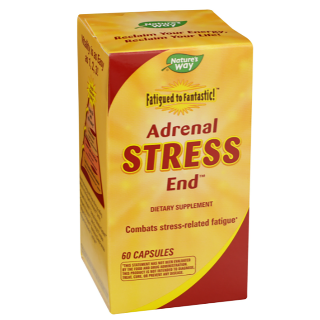 Enzymatic TherapyAdrenal Stress End - Fatigued to Fantastic