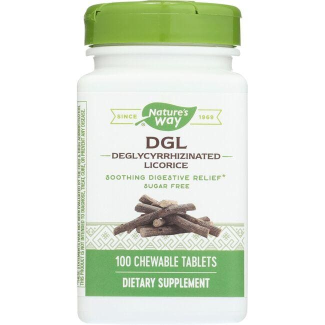 Nature's Way DGL - Sugar Free