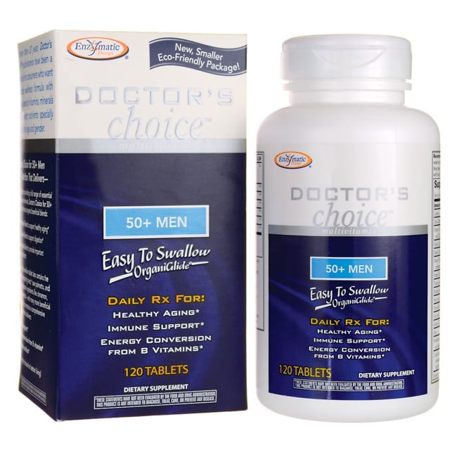 Enzymatic Therapy Doctor S Choice For 50 Men 120 Tabs