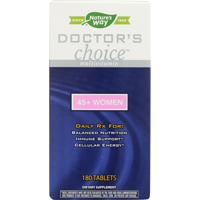 enzymatic therapy doctor s choice for 45 women 180 tabs