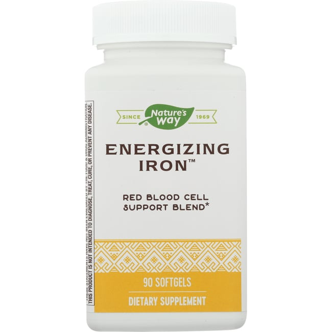 Enzymatic TherapyEnergizing Iron