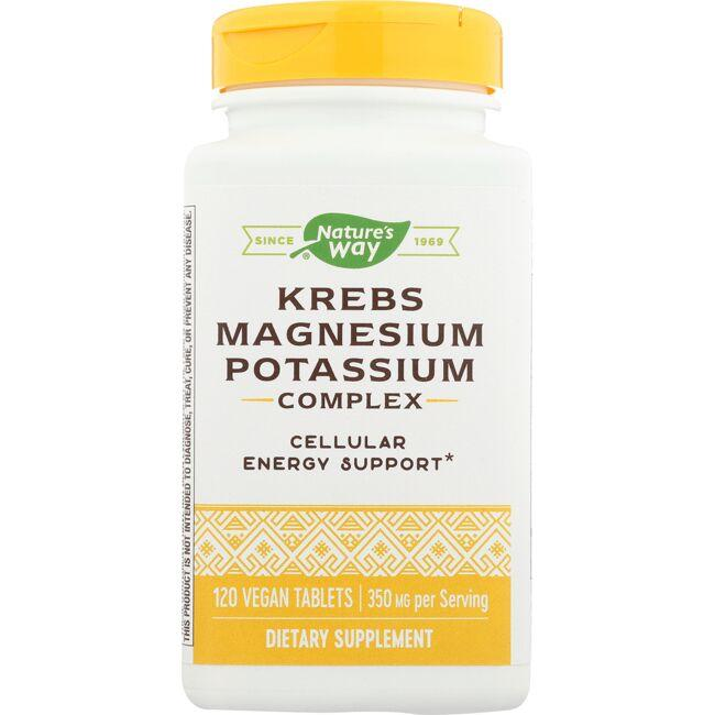 Enzymatic Therapy Krebs Magnesium Potassium Bioactive Mineral Complex