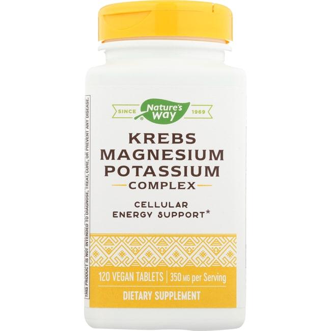 Enzymatic Therapy Krebs Magnesium Potassium Bioactive Mineral Complex