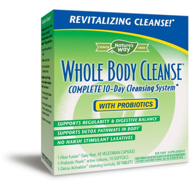 Nature's Way Whole Body Cleanse with Probiotics