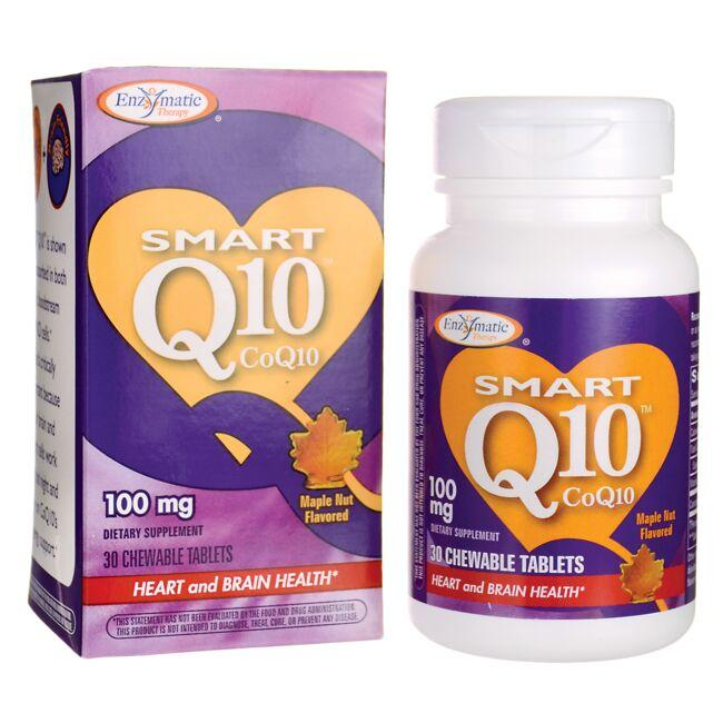Enzymatic Therapy Smart Q10 CoQ10 - Maple Nut