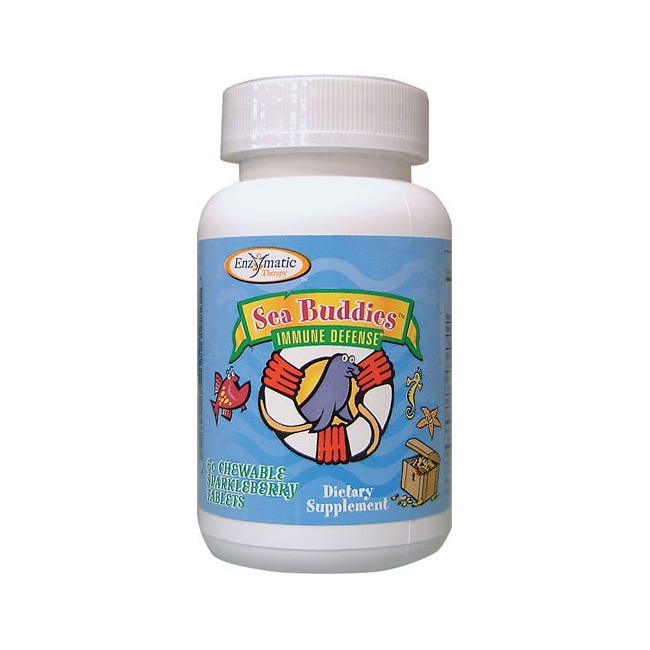 Enzymatic Therapy Sea Buddies Immune Defense Sparkleberry