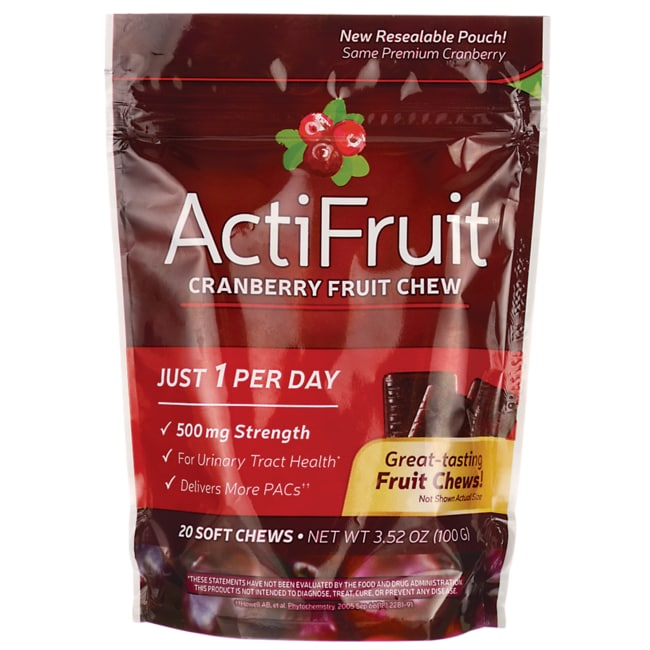 Enzymatic TherapyActiFruit Cranberry Fruit Chew