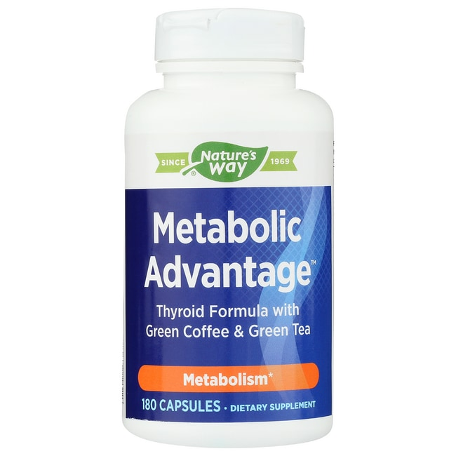 Enzymatic TherapyMetabolic Advantage Thyroid Formula