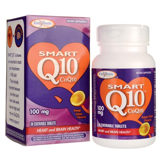 Enzymatic TherapySmart CoQ10 Orange Creme Flavored