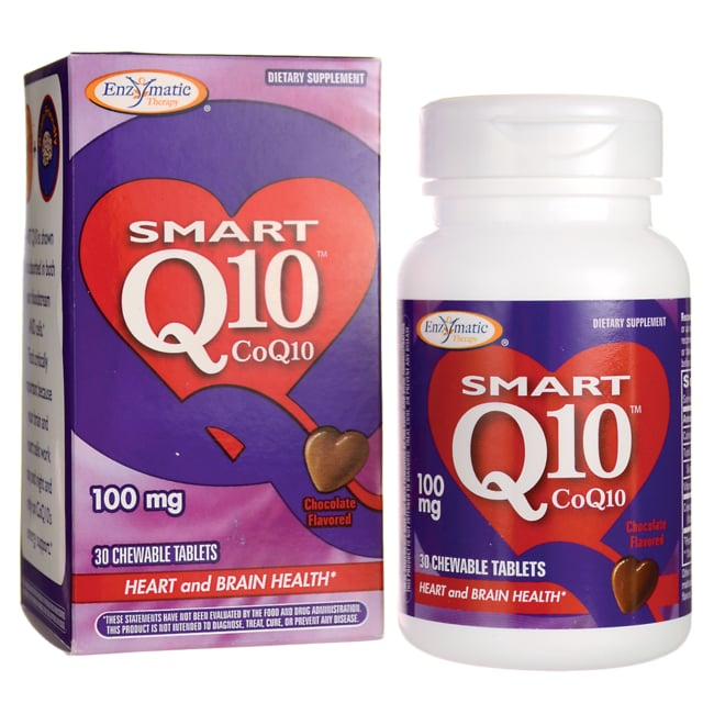 Enzymatic Therapy Smart CoQ10 Chocolate Flavored