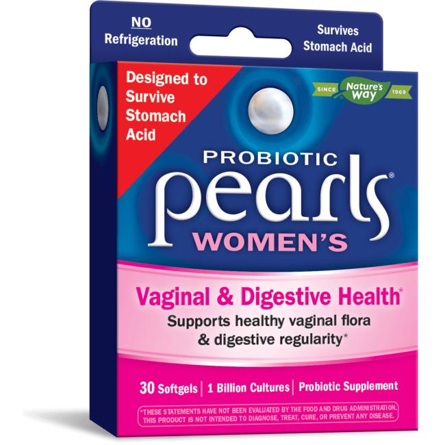 Nature's Way Probiotic Pearls Women's