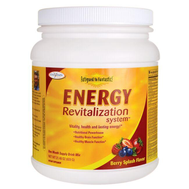 Enzymatic TherapyFatigued to Fantastic! Energy Revitalization System - Berry Splash
