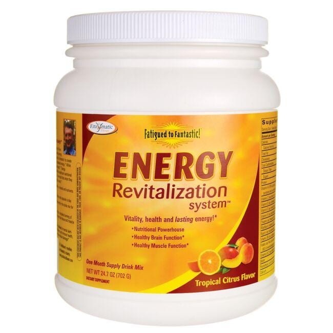 Enzymatic Therapy Fatigued to Fantastic! Energy Revitalization System - Citrus