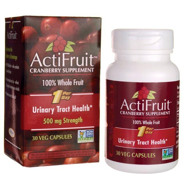 Enzymatic Therapy ActiFruit Cranberry Supplement