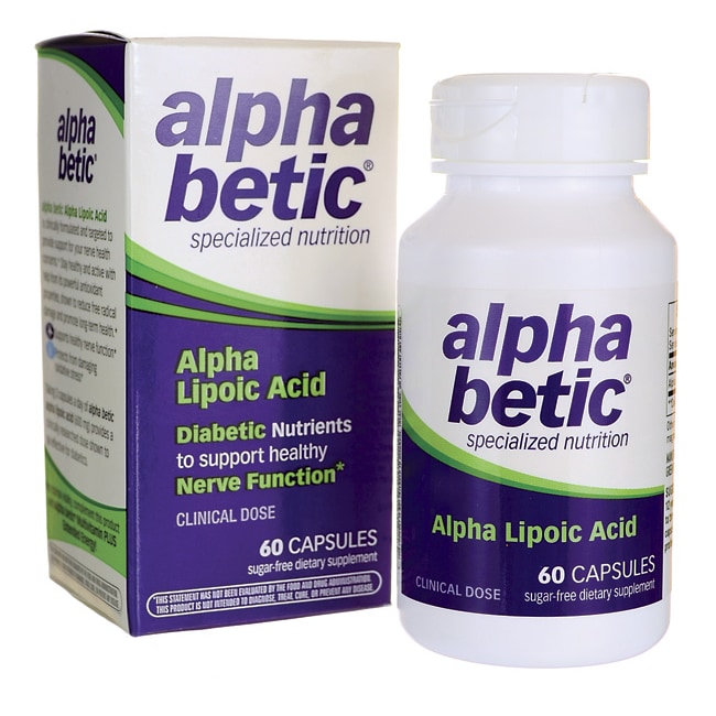 Enzymatic TherapyAlpha Betic Alpha Lipoic Acid