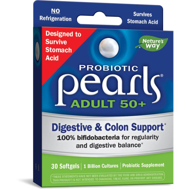 Nature's Way Probiotic Pearls Adult 50+