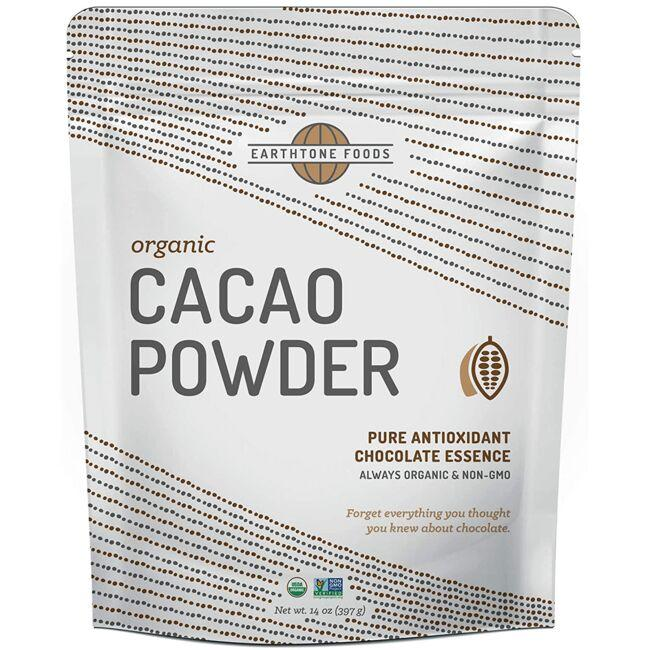 Earthtone Foods Organic Cacao Powder - Chocolate Essence