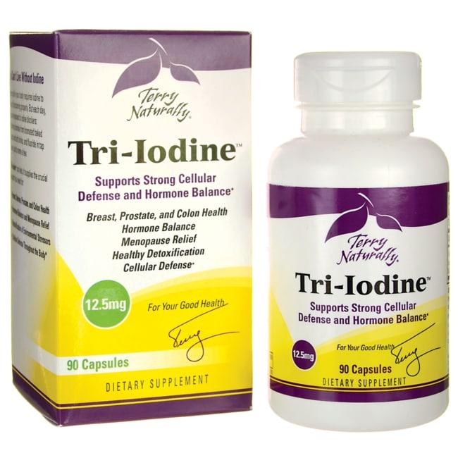 EuroPharma Terry Naturally Tri-Iodine