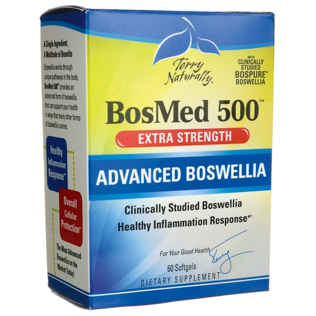 EuroPharmaTerry Naturally BosMed 500 - Extra Strength