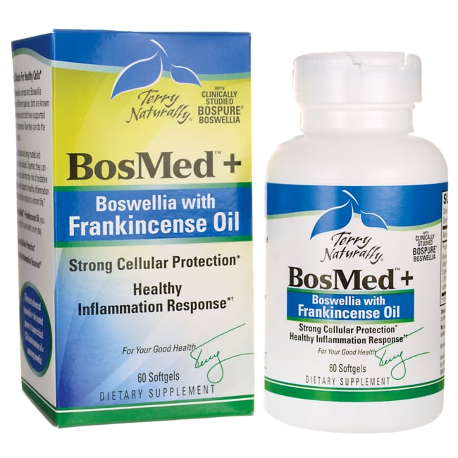 EuroPharmaTerry Naturally BosMed+ Boswellia with Frankincense Oil