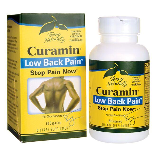 EuroPharma Terry Naturally Curamin Low Back Pain