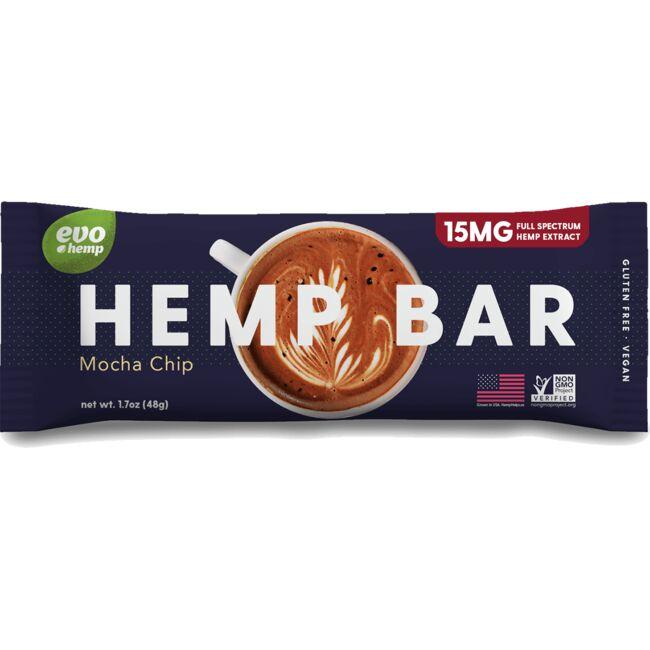 Evo Hemp Hemp Bar - Mocha Chip