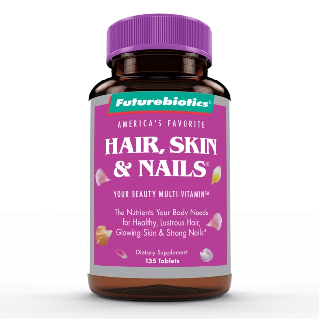 Futurebiotics Hair Skin & Nails 135 Tabs - Swanson Health Products