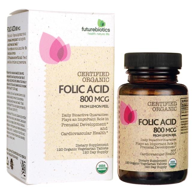 Futurebiotics Folic Acid Certified Organic